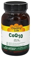 Country Life - CoQ10 100 mg. - 60 Vegetarian Capsules by Country Life