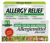 Boericke & Tafel - Allergiemittel Alleraide - 40 Tablets, from category: Homeopathy