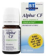 Image of Boericke & Tafel - Alpha CF - 120 Tablets