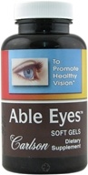 Carlson Labs - Able Eyes Healthy Vision - 30 Softgels - $13.94