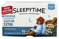 Celestial Seasonings - Sleepytime Extra Wellness Tea Caffeine Free - 20 Tea Bags by Celestial Seasonings