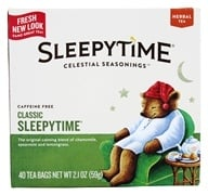 Celestial Seasonings - Sleepytime Herbal Tea Caffeine Free Classic - 40 Tea Bags