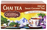 Celestial Seasonings - Sweet Coconut Thai Decaf - 20 Tea Bags (070734055096)
