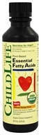 Child Life Essentials - Essential Fatty Acids Organic Oil Blend Natural Orange - 8 oz., from category: Nutritional Supplements