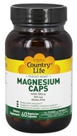 Country Life - Target Mins Magnesium Caps with Silica 300 mg. - 60 Vegetarian Capsules, from category: Vitamins & Minerals