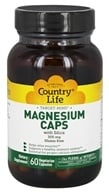 Country Life - Target Mins Magnesium Caps with Silica 300 mg. - 60 Vegetarian Capsules - $5.99
