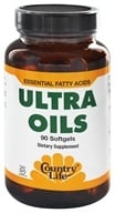 Image of Country Life - Ultra Oils Essential Fatty Acids - 90 Softgels