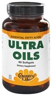 Country Life - Ultra Oils Essential Fatty Acids - 90 Softgels by Country Life