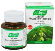 Bioforce USA A.Vogel - Calcium Absorption Formula - 400 Tablets