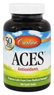 Carlson Labs - ACES Vitamins A, C, E plus Selenium - 90 Softgels (088395044397)