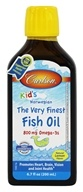 Carlson Labs - For Kids The Very Finest Norwegian Fish Oil Great Lemon Flavor - 6.7 oz. (088395015434)
