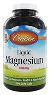 Carlson Labs - Liquid Magnesium 400 mg. - 250 Softgels - $19.17