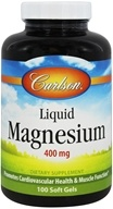 Carlson Labs - Liquid Magnesium 400 mg. - 100 Softgels (088395052019)