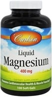 Carlson Labs - Liquid Magnesium 400 mg. - 100 Softgels by Carlson Labs