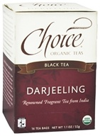 Image of Choice Organic Teas - Darjeeling Tea - 16 Tea Bags