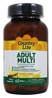 Country Life - Chewable Adult Multi - 60 Wafers by Country Life