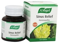 Bioforce USA A.Vogel - Sinus Relief - 120 Tablets, from category: Homeopathy