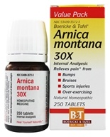 Boericke & Tafel - Arnica Montana 30 X - 250 Tablets, from category: Homeopathy