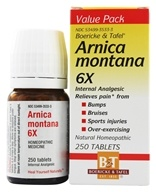 Boericke & Tafel - Arnica Montana 6 X - 250 Tablets, from category: Homeopathy