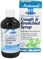 Image of Boericke & Tafel - Bronchial Cough Syrup 99% Alcohol Free - 8 oz.