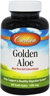 Image of Carlson Labs - Golden Aloe (Aloe Vera Gel Concentrate) - 60 Softgels