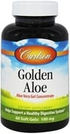 Carlson Labs - Golden Aloe (Aloe Vera Gel Concentrate) - 60 Softgels by Carlson Labs
