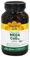 Image of Country Life - Maxi-Sorb Mega CoQ10 Q-Gel 100 mg. - 60 Softgels