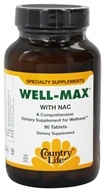 Biochem by Country Life - Well-Max With Nac - 90 Tablets, from category: Nutritional Supplements