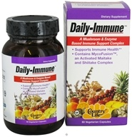 Country Life - Daily Immune Mushroom & Enzyme Based Immune Support Complex - 60 Vegetarian Capsules by Country Life