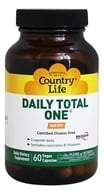 Country Life - Daily Total One with Maxi-Sorb Delivery System Iron-Free - 60 Capsules by Country Life