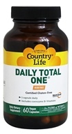 Country Life - Daily Total One with Maxi-Sorb Delivery System Iron-Free - 60 Capsules (015794081616)