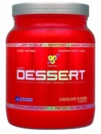 BSN - Lean Dessert Protein Shake Chocolate Fudge Pudding - 1.39 lbs., from category: Sports Nutrition