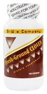 O-W & Company - Bionics - Cloves Fresh Ground - 100 Capsules, from category: Herbs