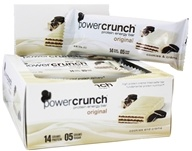 BioNutritional Research Group - Power Crunch High Protein Energy Wafer Cookies & Creme - 1.4 oz.