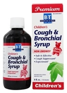 Boericke & Tafel - Cough & Bronchial Syrup for Children Cherry Flavor - 8 oz. (308079005941)