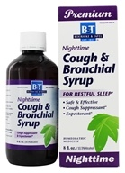 Image of Boericke & Tafel - Nighttime Cough & Bronchial Syrup - 8 oz.