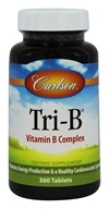 Carlson Labs - Tri-B Homocysteine Formula - 360 Tablets, from category: Vitamins & Minerals