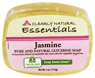Image of Clearly Natural - Glycerine Soap Bar Jasmine - 4 oz.