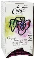Choice Organic Teas - Gourmet Northwest Blackberry Tea - 20 Tea Bags