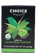 Choice Organic Teas - Premium Japanese Green Tea - 16 Tea Bags, from category: Teas
