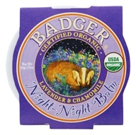 Badger - Night-Night Gentle Sleep Balm for Kids - 0.75 oz. by Badger