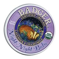 Badger - Night-Night Gentle Sleep Balm for Kids - 2 oz. by Badger