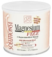 Baywood International - Solutions Magnesium Fizz Effervescent Blend Cherry Flavor - 17.4 oz. (780613109016)