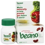 Image of Beano - Food Enzyme - 100 Tablets