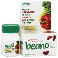 Beano - Food Enzyme - 100 Tablets by Beano