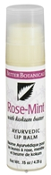 Better Botanicals - Ayurvedic Lip Balm Rose-Mint - 0.15 oz.