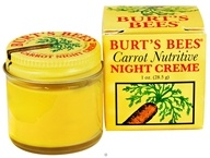Burt's Bees - Carrot Nutritive Night Creme - 1 oz.