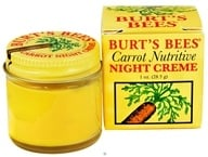 Burt's Bees - Carrot Nutritive Night Creme - 1 oz. by Burt's Bees