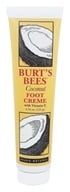 Burt's Bees - Foot Cream with Vitamin E Coconut - 4.34 oz.