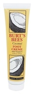 Burt's Bees - Foot Cream with Vitamin E Coconut - 4.34 oz. by Burt's Bees